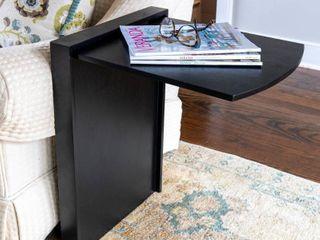 Andreas Folding Side Table   Satin Black