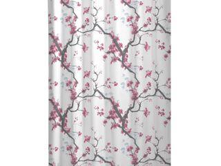 Maytex Cherrywod Fabric Shower Curtain