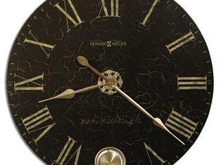 Howard Miller london Night Elegant  Glam  Vintage Style Distressed Statement Wall Clock Retail 419 00