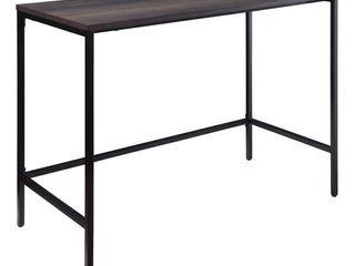 OSP Home Furnishings   Contempo Rectangular Table   Ozark Ash