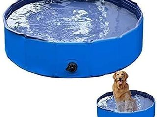 VaygWay Foldable Pet Dog Pool a Portable Swimming Pool Dogs Cats a Bathing Tub and Kiddie Pool a Collapsible Pool for Dogs Cats and Kids