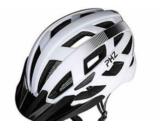 PHZ  Adult Bike CPSC Certified Helmet with Rechargeable led Back light Detachable Visor Ideal for Road Ride Mountain Bike Bicycle for Men and Women a  large  7346008