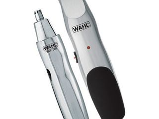 Wahl Groomsman Cord Cordless Beard  Mustache Hair   Nose Hair Trimmer for Detailing   Grooming   Model 5623