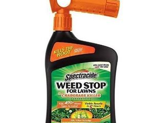 Spectracide Weed Stop For lawns   Crabgrass Killer Concentrate  32 oz  6 PK