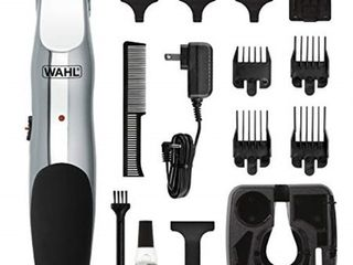 Wahl 9916 4301 Beard and Mustache Trimmer  Cordless Rechargeable Facial Hair Trimmer with 5 length Settings