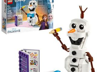 lEGO Disney Frozen II Olaf 41169 Olaf Snowman Toy Figure Building Kit Christmas Gift  122 Pieces