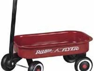 Radio Flyer little Red Toy Wagon NO WHEElS