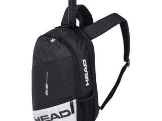HEAD Elite Backpack 2020 Black White Tennis Bags