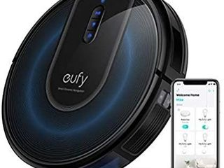 eufy by Anker BoostIQ RoboVac 11S  Slim  Robot Vacuum Cleaner  Super Thin  1300Pa Strong Suction  Quiet  Self Charging Robotic Vacuum Cleaner  Cleans Hard Floors to Medium Pile Carpets