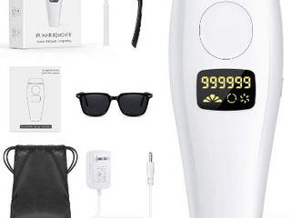 IPlBAI Permanent IPl Hair Removal for Women Men Painless At Home Hair Remover Machine for Facial Chin lip Bikini Whole Body Use  UPGRADED to 999 999 Flashes