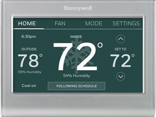 Honeywell Home RTH9585WF1004 Wi Fi Smart Color Thermostat  7 Day Programmable  Touch Screen  Energy Star  Alexa Ready