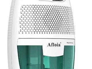 Afloia Portable Dehumidifier for Bathroom 1500 Cubic Feet Electic Mini Home dehumidifier for Home Deshumidificador Dehumidifier for Bathroom Baby Room Space Bedroom RV Basement Caravan Office Garage
