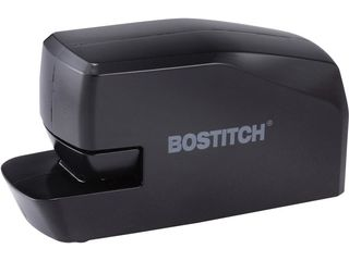 Bostitch Office Portable Electric Stapler  20 Sheets  AC or Battery Powered  Black  MDS20 BlK