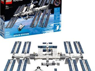 lEGO Ideas International Space Station 21321 Building Kit  Adult Set for Display  Makes a Great Birthday Present  New 2020  864 Pieces