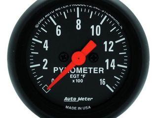 AUTO METER 2654 Z Series Electric Pyrometer Gauge Kit
