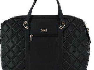 BADGlEY MISCHKA Quilted Travel Tote Weekender Bag