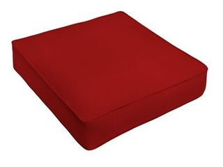 Sunbrella Jockey Red Indoor  Outdoor Deep Seating Cushion by Humble   Haute  Retail 102 99 Set of 2