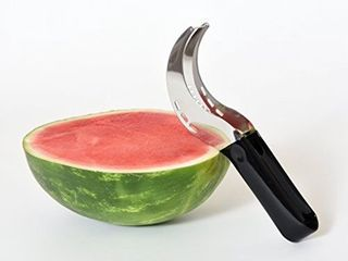 Watermelon Stainless Steel Slicer Server Knife Cutter Corer Scoop Tool