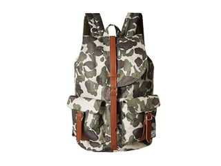 Herschel Backpack Dawson Classics 693 2oz Frog Camo tan Synthetic leather