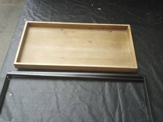 Declan Rectangle Wood Tray Top Folding Table