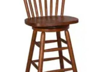 The Gray Barn Mendosa Tobacco Finished Barstool  Retail 96 49