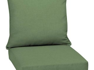 Arden Selections Moss leala Texture Outdoor Deep Seat Set   46 5 in l x 25 in W x 6 5 in H