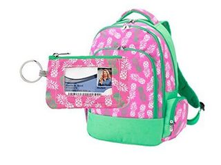 Wholesale Boutique Viv and lou Pineapple Backpack and ID Case School Supplies