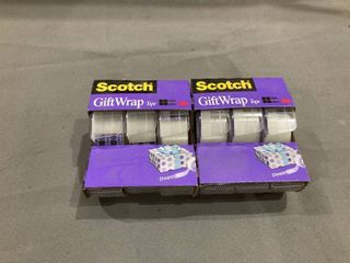 Pair of 3 Pack Scotch Tape