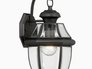 Portfolio Brayden 14 13  H Matte Black e 26 Base Outdoor Wall light 0338653