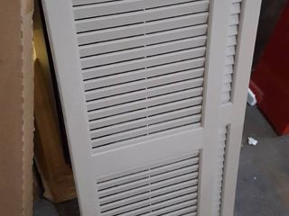 Grey Plastic Window Shutters