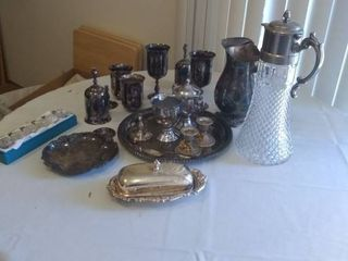 Antique and Vintage Silver Plated Kitchen Items