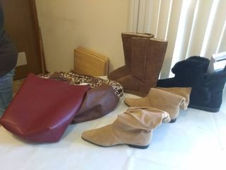 lot of Bags  Shoes  and more