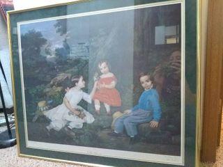 Vintage Framed Art Print