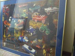 Framed Puzzle Art