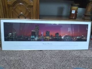 Framed Art Picture of Miami  Florida