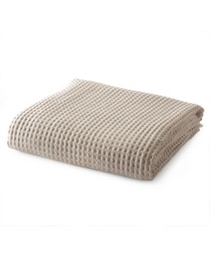 Great Bay Home Mikala Collection Cotton Waffle Weave Blanket  Twin Bedding