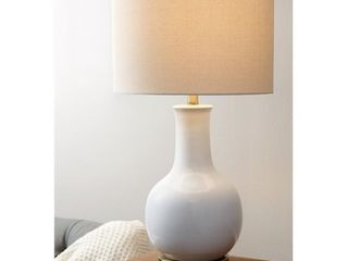 Abbyson Gourd White Ceramic 29 inch Table lamp Retail 111 99