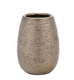 Five Queens Court Priscilla Bronze Stoneware Tumbler