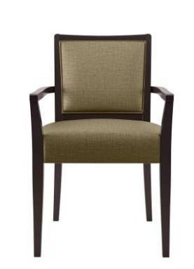 OaNeil Jutelike dining arm chair beige single