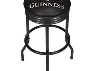 Guinness Black Ribbed Bar Stool   Harp Retail 85 27