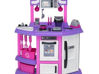 American Plastic Toys Baker s Kitchen Playset   Pink Purple White