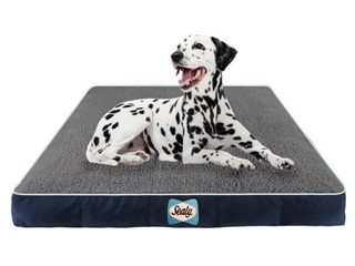 Sealy lux Sherpa Quad layered Dog Bed Retail 114 74