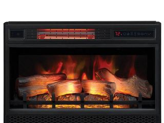 Classicflame Spectrafire 26 inch 3d Infrared Quartz Electric Fireplace Insert With Safer Plug And Safer Sensor