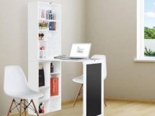 Utopia Alley white collapsible fold down desk