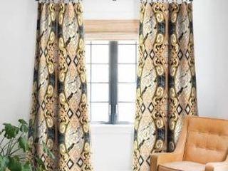 Marta Barragan Camarasa Pattern Mosaic Art Deco I Blackout Curtain Panel