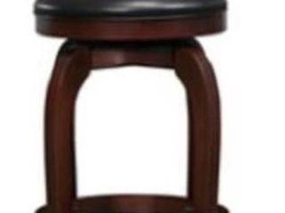 Verona cherry swivel 24 inch high back chair