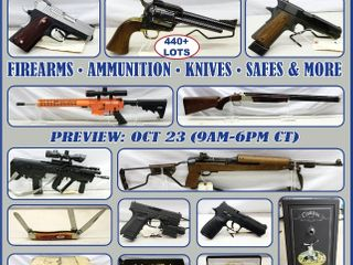 ONLINE ABSOLUTE AUCTION: FIREARMS - AMMUNITION - SPORTING GOODS