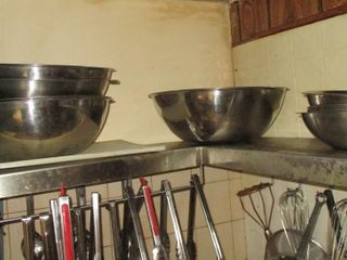 lOT  STAINlESS STEEl MIXING BOWlS
