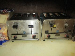 2 WARING TOASTERS