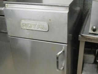 ROYAl NATURAl GAS DEEP FRYER